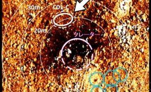 """""""隼鸟2号""""第二次着陆锁定陨石坑外侧表面"""