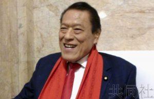 日本参议员猪木拟不再参选 长年与朝鲜交流