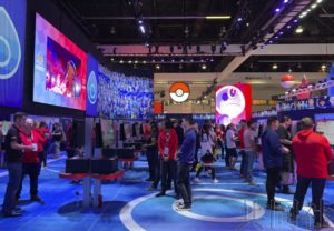 美国E3游戏展开幕 任天堂宝可梦新作亮相