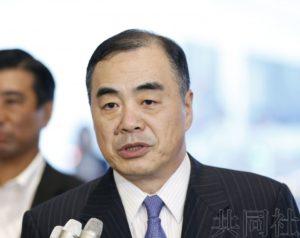 """中国新驻日大使就美中贸易摩擦称将会""""奉陪"""""""