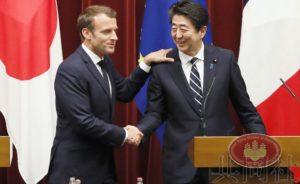 详讯:日法首脑就推进海洋安保合作达成一致