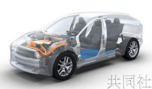 丰田和斯巴鲁将合作开发SUV型EV
