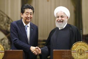 详讯:安倍向伊朗总统要求对话缓和美伊紧张局势