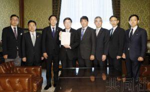 日本朝野政党提交针对众议员丸山的弹劾决议案
