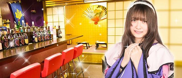 「萌田のぷなが」の「もののぷ城」で武装メイド接待、戦国メイドカフェ&バーもののぷ【連載:アキラの着目】