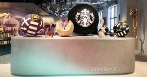 艺廊般的日本星巴克京都BAL店边喝咖啡边轻松欣赏艺术品