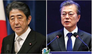 快讯:安倍暗示G20期间不举行日韩首脑会谈
