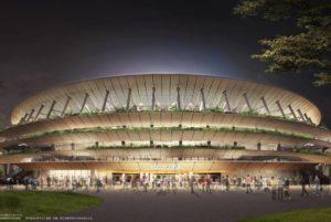 6000张照片为素材 日本为新国立竞技场制作三维影像