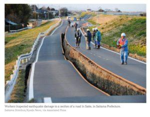 影/地震过后…日本惊现整齐「一条线」!他曝铺地全纪录