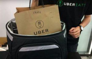 超狂!全球唯一日Uber Eats有爷奶走路为你送餐