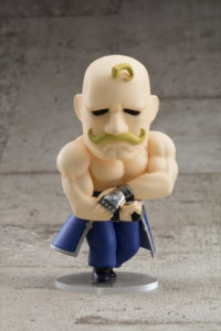 可爱的肌肉猛汉,「钢之炼金术师」阿姆斯特朗粘土人7.28开始接受预订