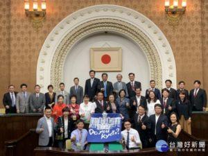 行销台南议长郭信良接受京都电台专访