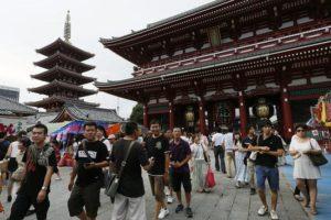快讯:上半年访日外国游客逾1663万人次 创新高