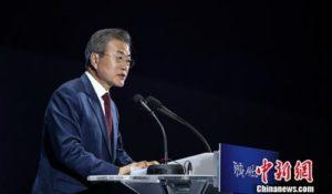 文在寅:力促外交方式解决韩日贸易摩擦