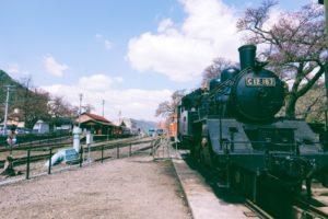 「返回昭和铁道散策」─若樱车站、昭和玩具馆、若樱民工艺馆、不动院岩屋堂