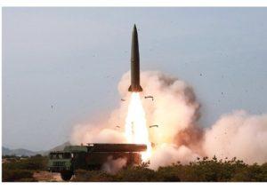 快讯:朝鲜25日发射的导弹或为KN23