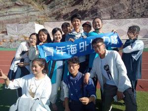 日本志愿者黑川樱:仰望校舍思绪万千 胸中充满感谢之情
