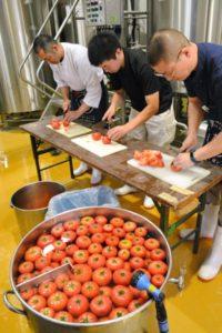 日本岩手县开始酿造夏日限定的番茄啤酒 广受好评