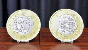 日本民众票选 东京奥运纪念币确定采用风神雷神图案