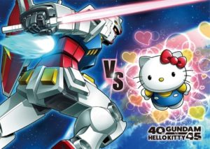 GUNDAM VS Hello Kitty 第2集PV推出Kitty搞笑化身帮高达作战?