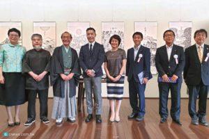 台湾宝吉祥在日本京都!水墨x 陶艺联展被误认为台湾欧吉桑的京都巿长也按赞