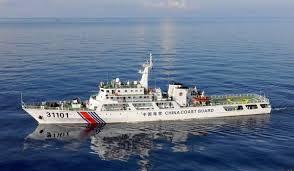中国海警船一度驶入尖阁领海 为今年第21天