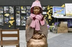 向慰安妇少女像吐口水嫌疑人均为韩国人