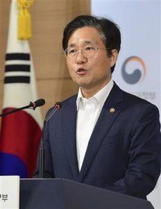 快讯:韩国高官协调拟12日在东京与日本磋商