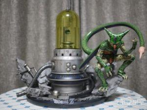 《龙珠》沙鲁实验室雕像 邪恶BOSS逃出超还原