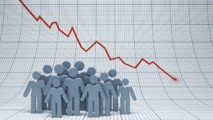 日本国内人口减少43万 下滑幅度创新高