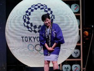 日政坛女将小池百合子站上东京奥运新舞台