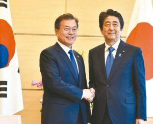 日本安全出口名单拟除南韩文在寅警告反伤作用