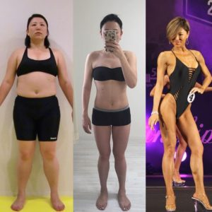 被妈妈狠批死肥猪日女狠甩42公斤成健美冠军