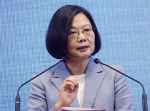 NHK专访蔡总统:台湾要加强防范中国扩张军力