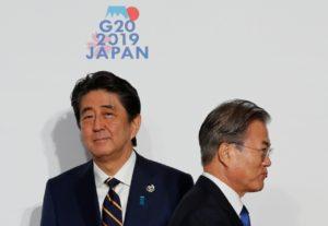 韩日关系紧张南韩考虑终止韩日军事情报协定