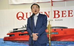 JR九州新型船明年7月加入福冈至釜山航线