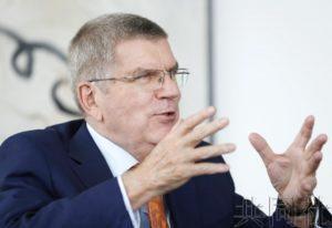 专访:IOC主席称与日本灾区同在 将访问广岛呼吁和平
