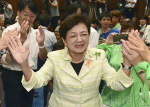 日本参院选举女性当选人数持平最高纪录