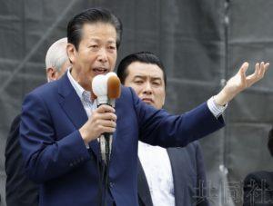 日本朝野各党党首发出参院选战第一声
