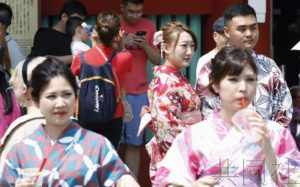 详讯:上半年访日外国游客逾1663万人次 创新高