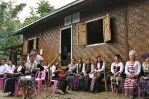 日本财团援建的缅甸北部难民临时住宅竣工