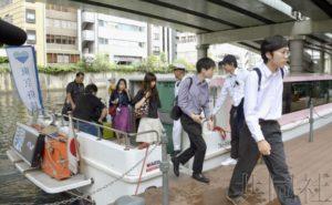 东京都为缓解奥运拥堵开始试验船舶通勤