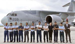 东盟空军军官等在日本鸟取空自基地参加研修