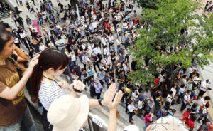 朝野政党为参院选举围绕养老金与经济展开舌战