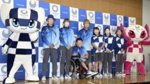 东京奥运会志愿者制服基调为靛蓝色