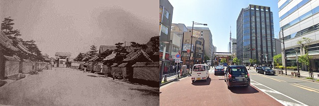 東京都港区大門の今昔