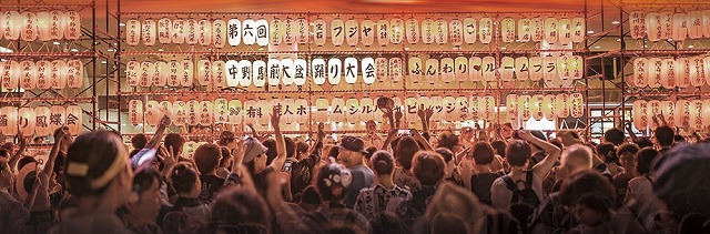 今年もロックやアニソンで大賑わい!? 第7回中野駅前大盆踊り大会【連載:アキラの着目】