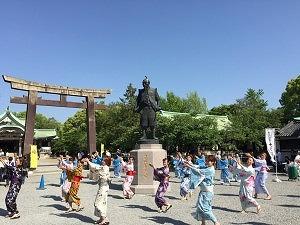 豊国踊り 大阪城天守閣から引用
