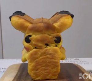 比卡超、龙猫切开有乾坤!日本面包达人自制丑样动漫角色面包