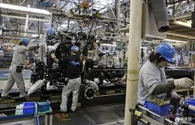 日本6月工矿业生产指数环比下跌3.6%